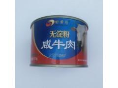 田黄石无淀粉咸牛肉罐头170g*12罐/件